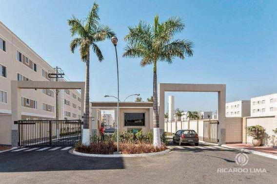 Apartamento Com 2 Dormitórios À Venda, 46 M² Por R$ 170.000 - Santa Terezinha - Piracicaba/sp - Ap0954