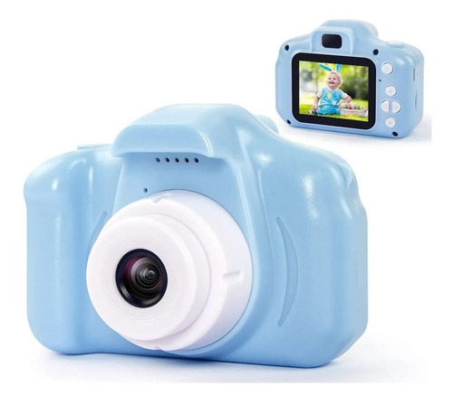 Cámara Digital Para Niños 1080p, Regalo Navideño