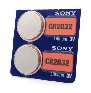 Pilas Boton Cr2032 Sony Blister X2 Unidades 3v Litio