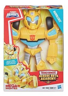 Transformers Bumblebee Mega Mighties Rescue Bots Academy