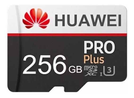 Cartão De Memória Micro Sd Huawei 256 Gb + Adaptador
