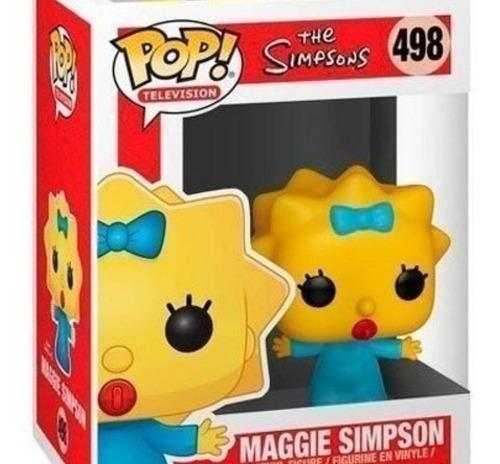 Figura Muñeco Funko Pop Los Simpson Maggie Original 498