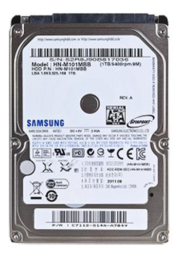 Disco Rígido Samsung Notebook 250 Gb No Funciona