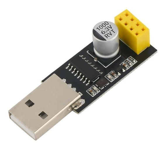 Adaptador Usb Serial Ttl Para Módulo Wifi Esp8266 Esp-01