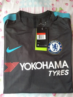 Camisa Manchester City Formato Jogador Tamanho G Cinza Escur