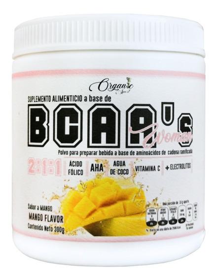 Bcaa Organic Hers Bcaas Woman 2:1:1 300g, 30 Porciones