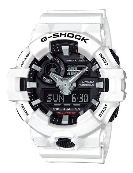 Casio G-shock Ga-700a Branco Lançamento!