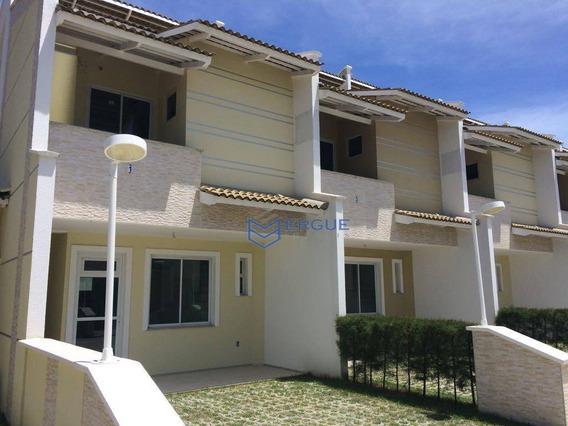 Casa Com 3 Dormitórios À Venda, 96 M² Por R$ 265.500,00 - Lagoa Redonda - Fortaleza/ce - Ca0904