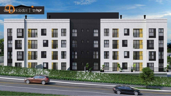 Apartamento Com 2 Dormitórios À Venda, 49 M² Por R$ 180.900 - Centro - Araucária/pr - Ap2876