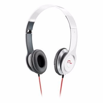 Headset Multilaser Hot Beat Powerphone Branco