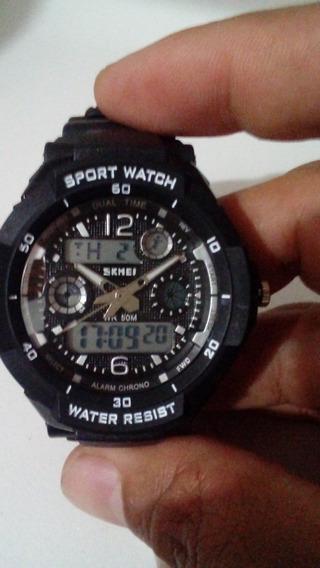 Relógio Masculino Skmei 1060 Preto A Prova D´agua Oferta