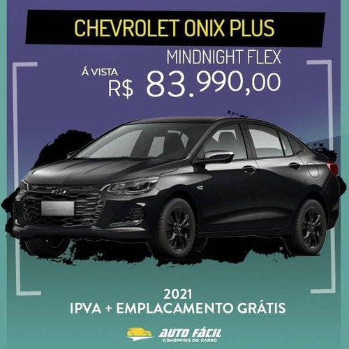 Chevrolet Onix 1.0 Turbo Flex Plus Premier Midnight