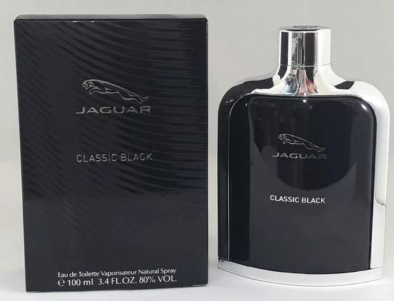 Perfume Jaguar Classic Black 100ml Original Frete Grátis.
