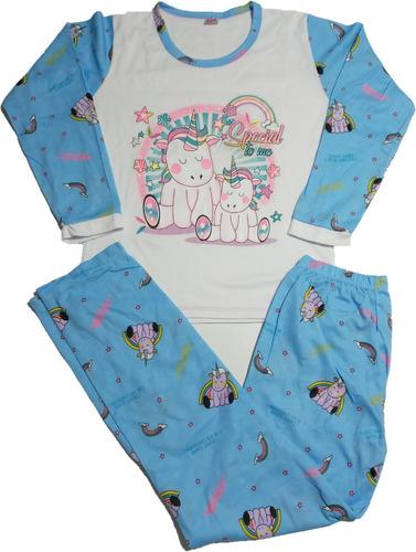 Pijama Para Niña En Algodón Reflectivas