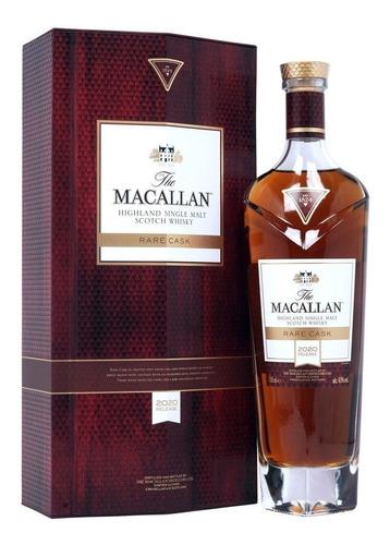 Imagen 1 de 6 de Whisky The Macallan Rare Cask 2020 Release 700ml Estuche