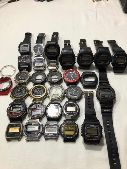 Lote De Relógios Antigos Digital Antigo