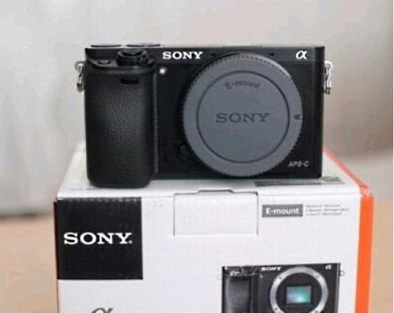 Cámara Sony A6000 Body - Excelente - Muy Cuidada