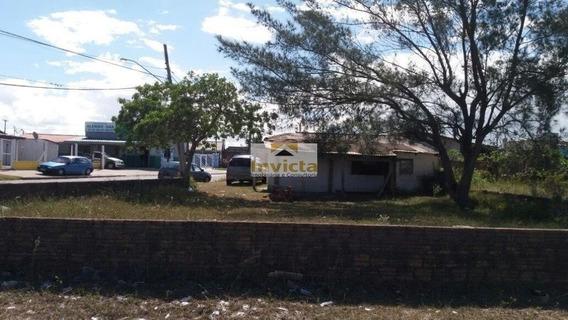 Terreno Em Cidreira - Rs Na Av. Central - V-144