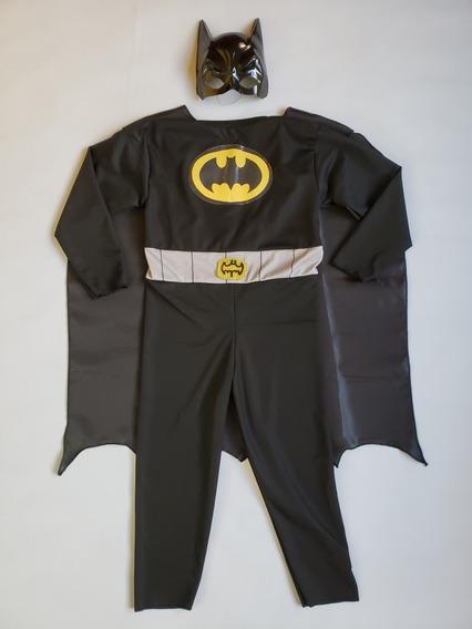 Disfraz Batman Niño/ Superhéroes Con Máscara Y Capa