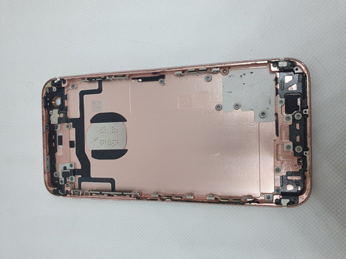 Chasis Con Flex Botones iPhone 6s Oro Rosa Usado Repuesto