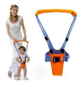 Andador Portátil Manual Suspenso P/bebê Moon Walk Auxiliador