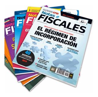 Suscripción Anual A La Revista Notas Fiscales (impresa)
