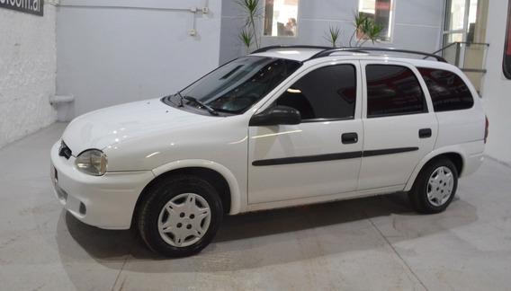 Chevrolet Corsa Classic Sw Base Ac 1.6n Blanco Gnc 2005 En M