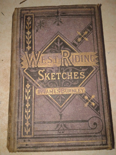 Libro West Riding Ketschest Antigua 1875  Burnley Ingles