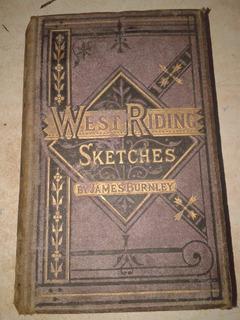 West Riding Ketschest Antigua 1875 Burnley Ingles Perfecto