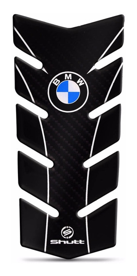 Protetor De Tanque Shutt Tank Pad Moto Bmw Carbono