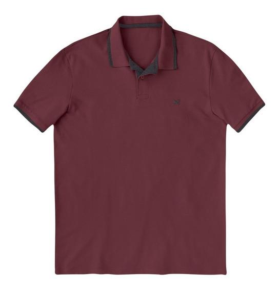 Camisa Polo Masculina Básica Hering 036h