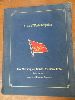 Libro Atlas Of World Shipping S.a.l En Ingles