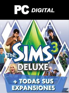 The Sims 3 + Todas Sus Expansiones Español / Pc Digital
