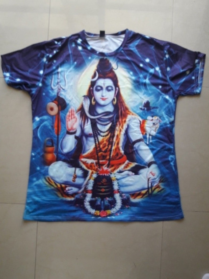 Remera Hindú India Shiva