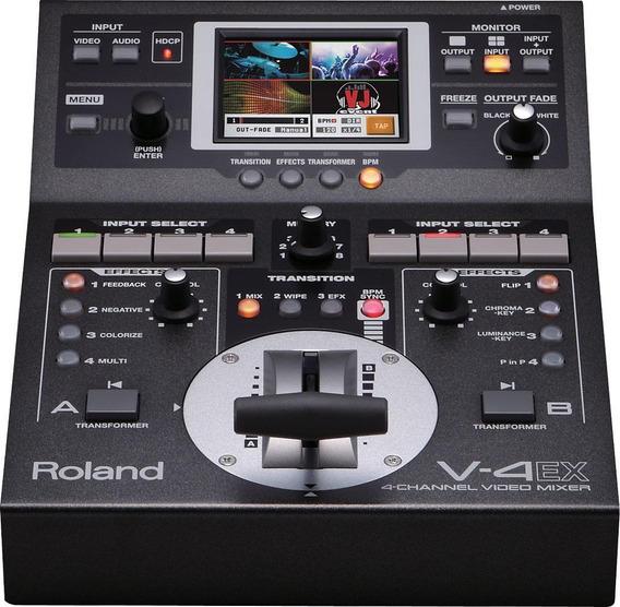 Vídeo Mixer Roland V-4ex 4 Canais