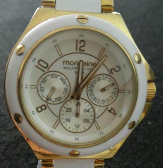 Relógio Feminino Casual 94473lpmgdp1 Analógico Multifunção