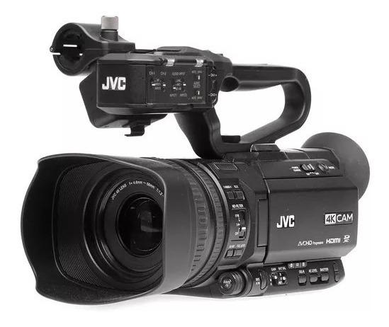 Filmadora Jvc 4k Gy-hm 180 Pronta Entrega Com Nf