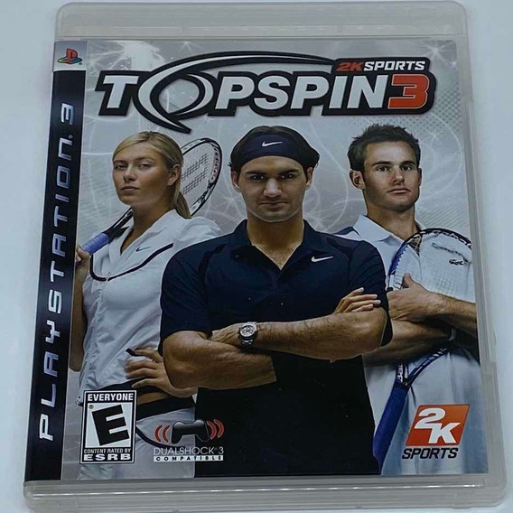 Game Top Spin 3 - Ps3