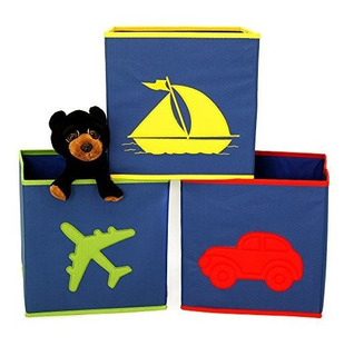 Niños Cubeta Diseño Cajas De Almacenamiento Organizadores