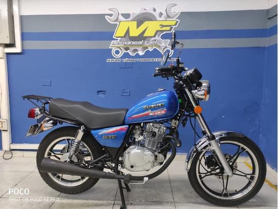 Suzuki Gn 125 2021 Traspaso Incluido!!!