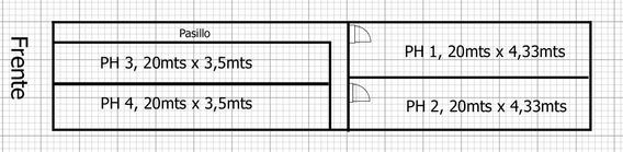 Quilmes Lote De Terreno Para Ph. De 4,33 X 20mts Oportunidad