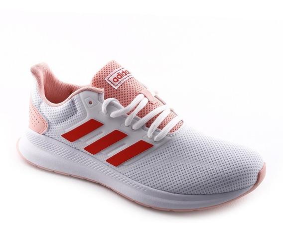 Zapatilla Running Runfalcon Bl/rj/rs adidas Mujer