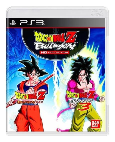 Dragon Ball Z Budokai Hd Collection - Ps3 - Original - Usado