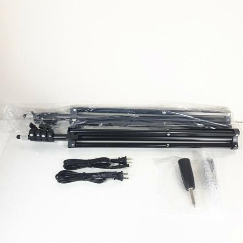 Imagen 1 de 5 de Samtian Tl-600s Kit De Luz De Video Led Para Estudio Fotográ