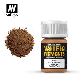 Vallejo Pigmento Oxido Antiguo 35ml 73120 Rdelhobby Mza