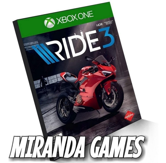 Ride 3 Xbox One Midia Digital
