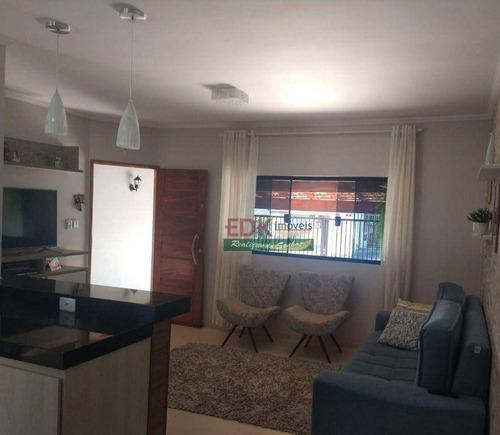 Imagem 1 de 10 de Casa Com 2 Dormitórios À Venda, 90 M² Por R$ 280.000,00 - Jardim Continental - Taubaté/sp - Ca6657