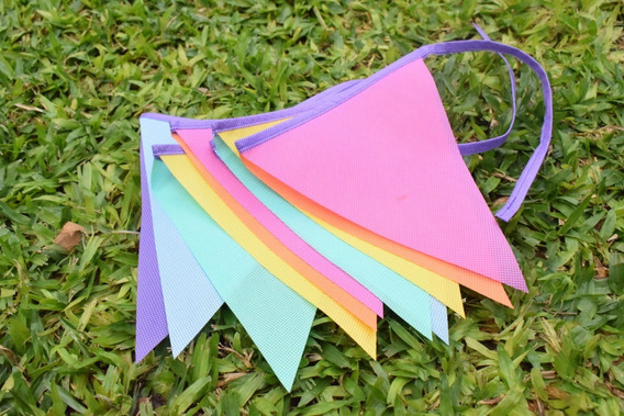 Banderín X 20 Mt Diseña El Tuyo C/los Colores Q