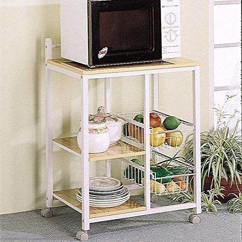 Muebles Para El Hogar Coaster 2506 Carrito Para Cocina Casua