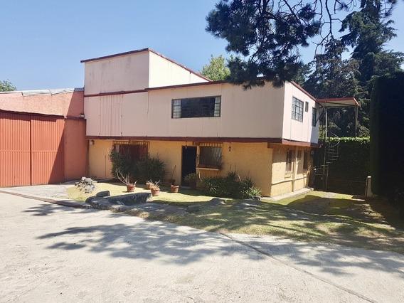 Espaciosas Bodegas En Venta, Amplia Oficina Y Gran Casa En San Miguel Ajusco